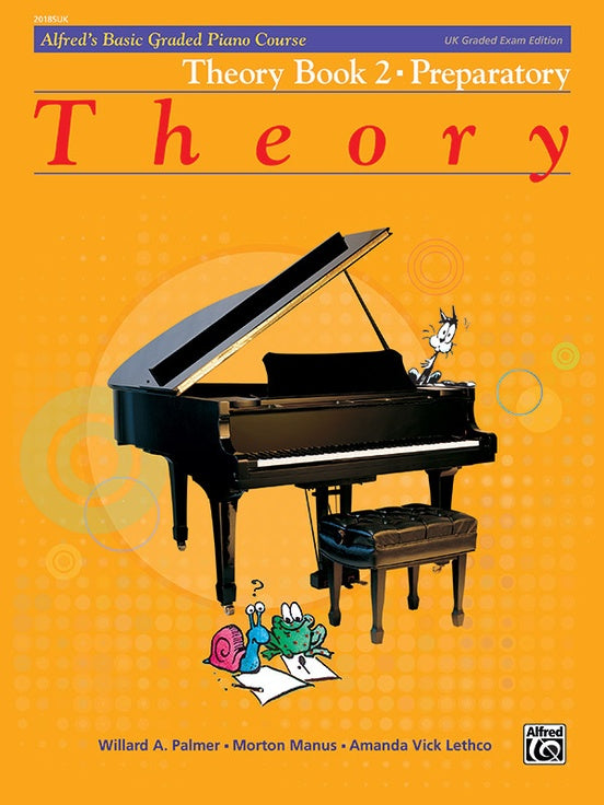 ALF20185UK - Alfred's Basic Graded Piano Course, Theory Book 2 Default title
