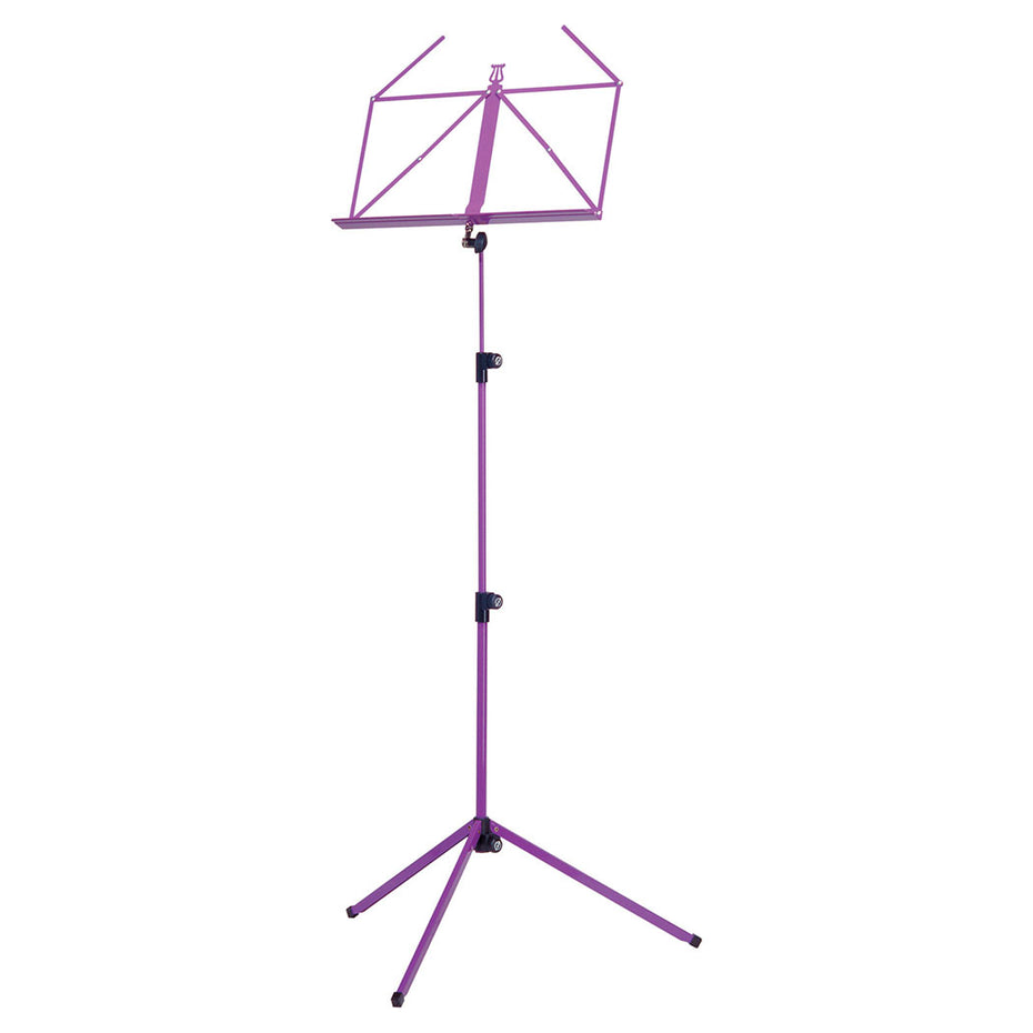 10010-000-65 - K&M folding music stand Purple lilac