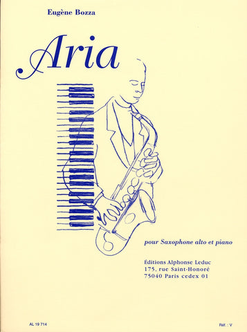 AL19714 - Aria for alto saxophone and piano Default title