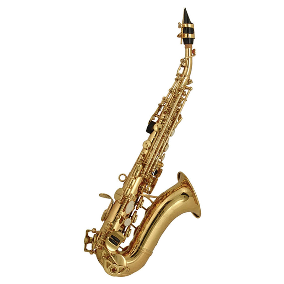 100SSU - Elkhart Classic curved B♭ soprano saxophone outfit Default title