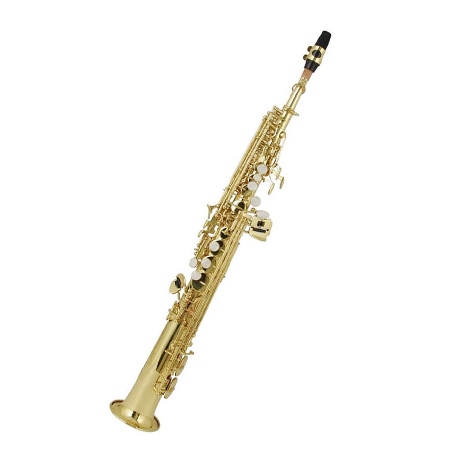 100SS - Elkhart Classic straight B♭ soprano saxophone outfit Default title
