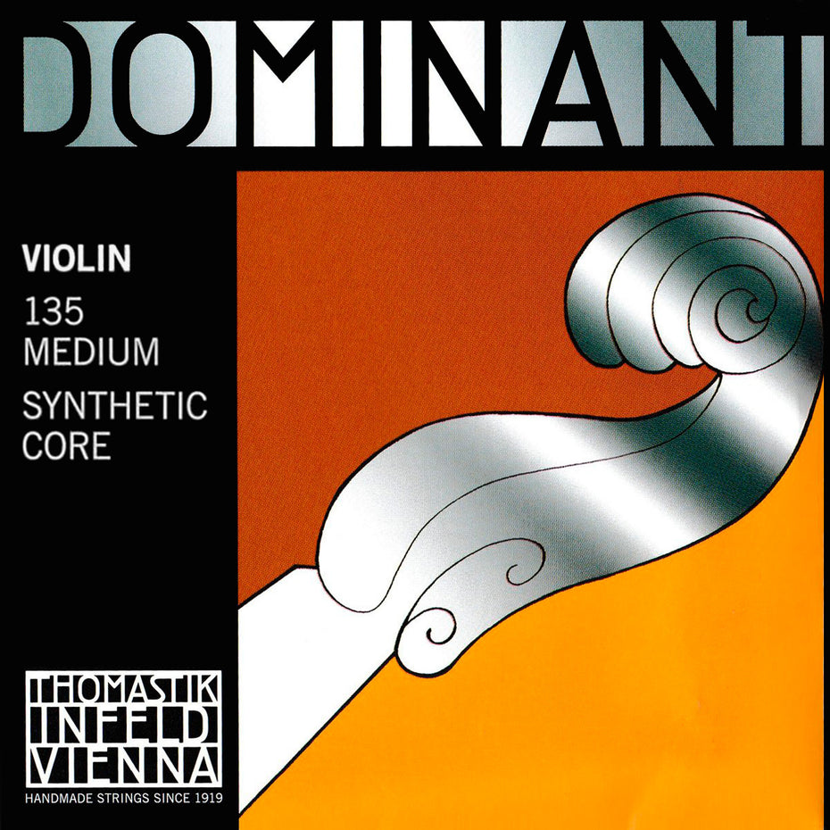 135-12,135-14,135-18,135-34,135-44 - Dominant violin strings set 4/4 full size