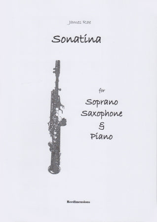 RD087 - Sonatina for Soprano Saxophone & Piano Default title