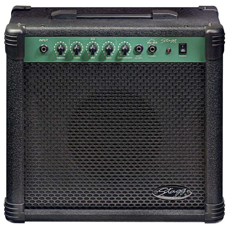 20BAUK - Stagg 20W bass guitar combo amplifier Default title