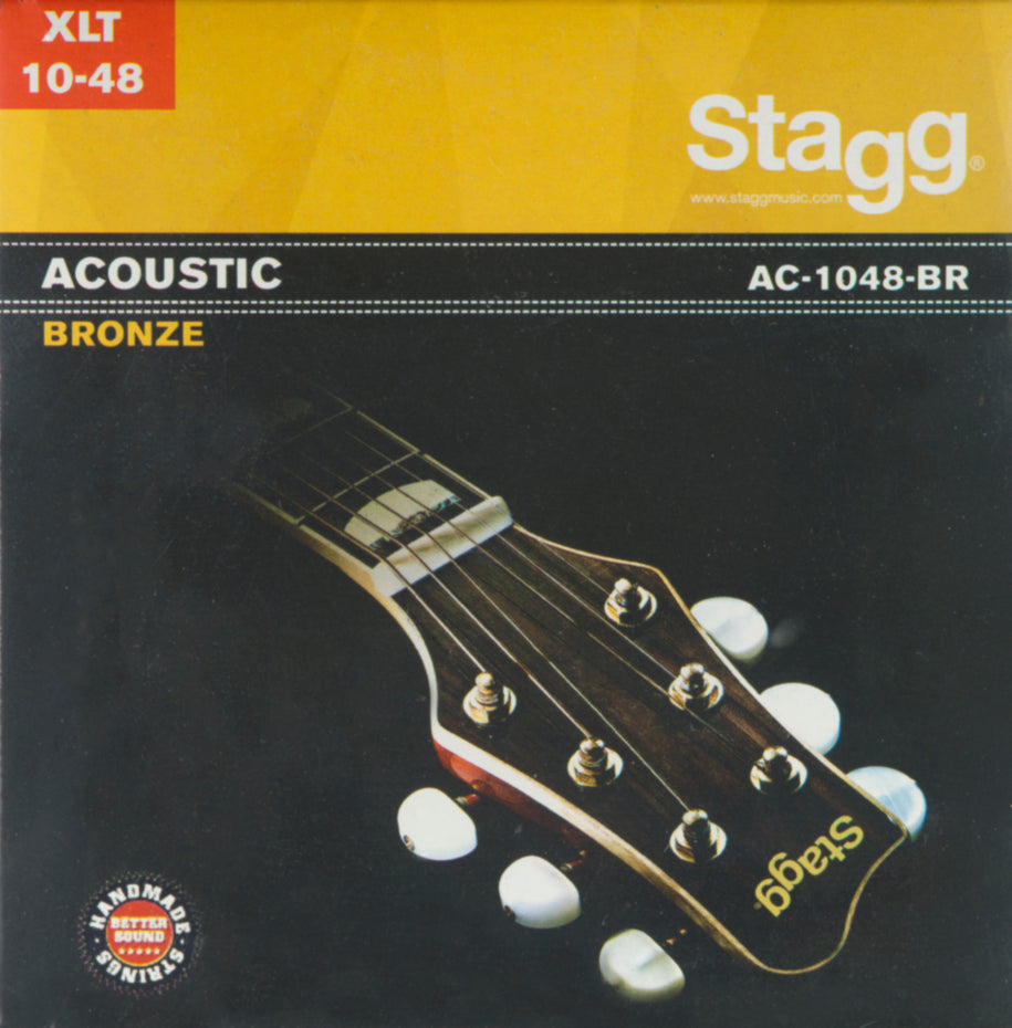 AC1048BR - Stagg entry level acoustic guitar strings Extra light