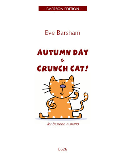 JE-EE626 - Autumn Day and Crunch Cat! Default title