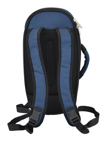 26CO-387 - Tom & Will cornet gig bag Blue with blue interior