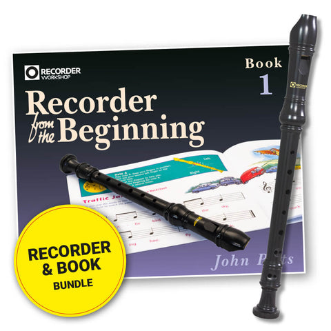 301-BOOK - Recorder from the Beginning Pupil Book 1 & Descant Recorder Bundle Default title