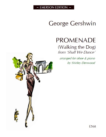 JE-EE568 - Promenade (Walking the Dog) - oboe and piano Default title
