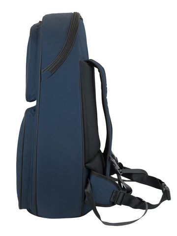 26BH-387 - Tom & Will baritone horn gig bag Blue with blue interior