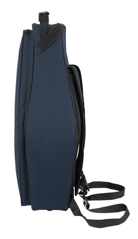 36AS-387 - Tom & Will alto sax gig bag Blue with blue interior