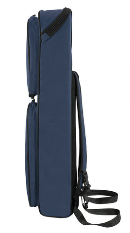 36SSX-387 - Tom & Will soprano sax gig bag Blue with blue interior