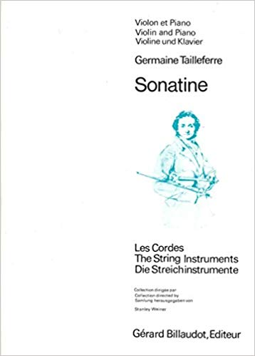 GB1635 - Taillefarre Sonatine for Violin Default title