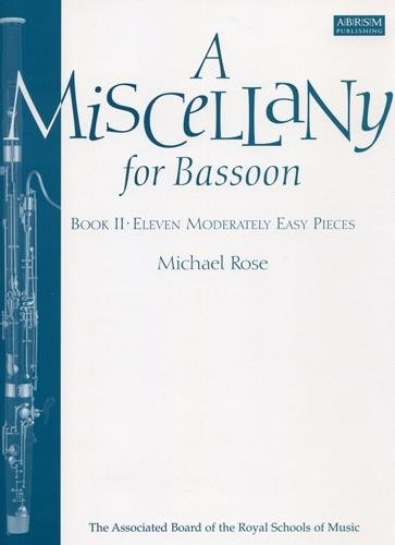AB-54724632 - A Miscellany for Bassoon, Book II Default title