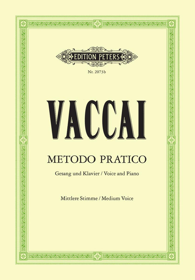 P2073B - Vaccai Practical Method (Metodo Practico) medium voice Default title