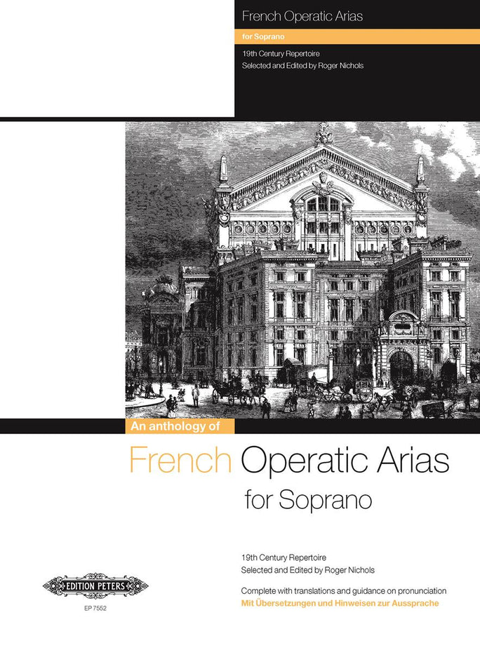 P7552 - French Operatic Arias for Soprano - 19th Century Repertoire Default title