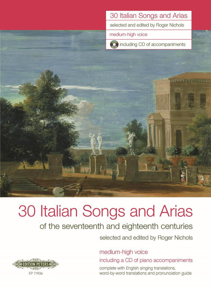 P7743A - 30 Italian Songs and Arias of the 17th and 18th Centuries Default title