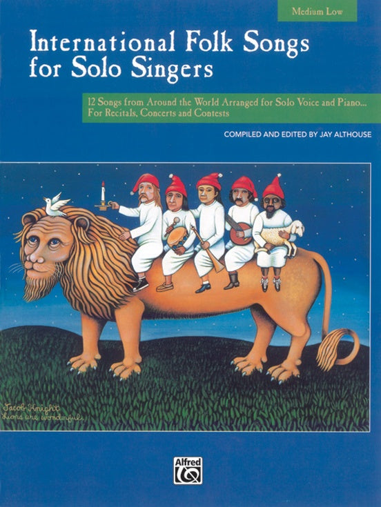 ALF16960 - International Folk Songs for Solo Singers Medium Low Default title