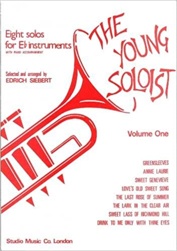 M050036432 - The Young Soloist - 8 solos for Eb Instruments volume 1 Default title
