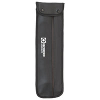 602A - Recorder Workshop treble recorder and bag - black with white trim Default title