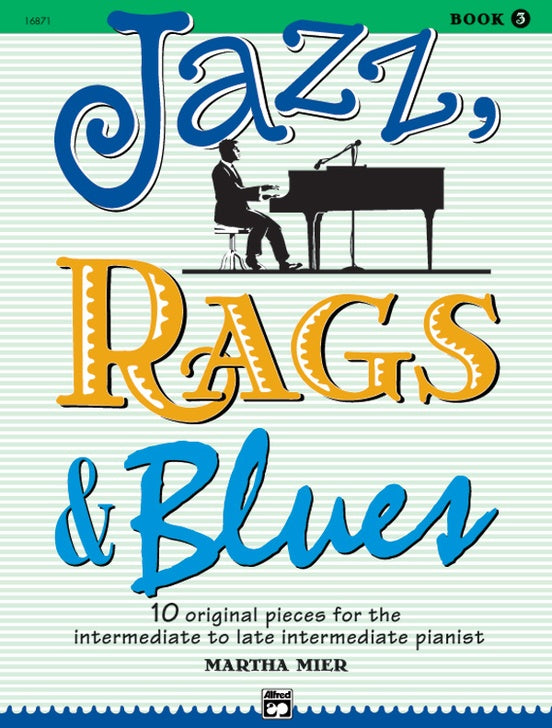 ALF16871 - Jazz, Rags & Blues Book 3 (Piano) Default title