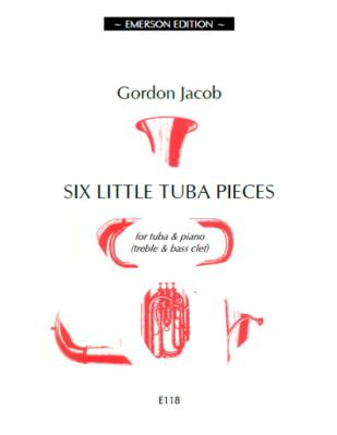 JE-E118 - Six Little Tuba Pieces Default title