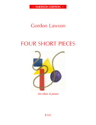 JE-E141 - Lawson Four Short Pieces for Oboe Default title