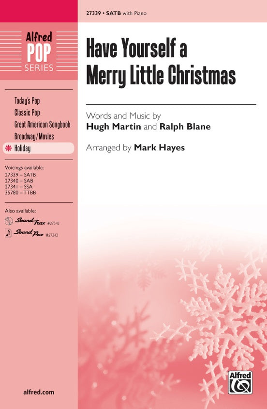 ALF27339 - Have Yourslf Merry Little Christmas SATB Default title