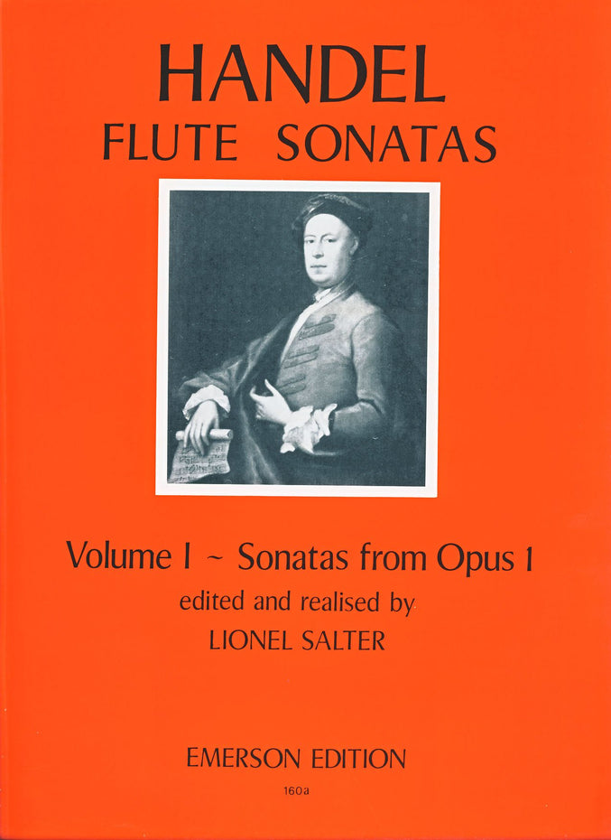 JE-E160A - Flute Sonatas Volume 1 (from Opus 1) Default title