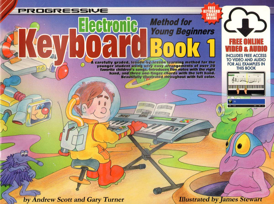 ME0901105 - Progressive Keyboard Method for Young Beginners Book 1 Default title