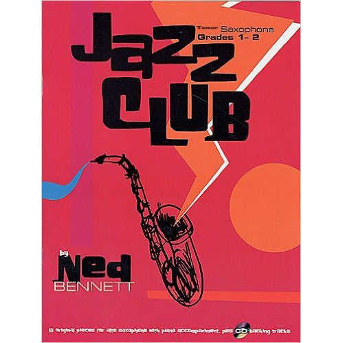 7533A - Jazz Club Tenor Sax Grades 1-2 ( CD) Default title