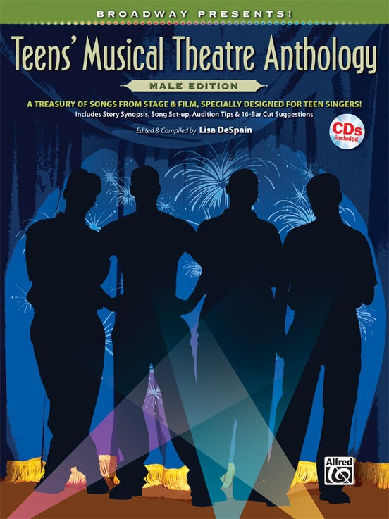 ALF32027 - Broadway Presents! Teens' Musical Theatre Anthology  Male Edition Default title