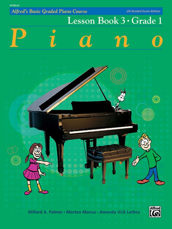 ALF20183UK - Alfred's Basic Graded Piano Course, Lesson Book 3 Default title