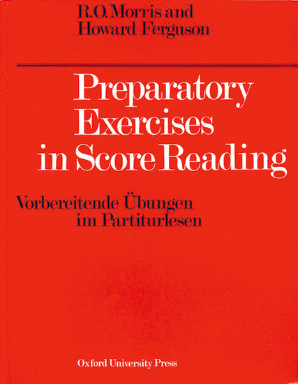 OUP-3214750 - Preparatory Exercises in Score Reading Default title