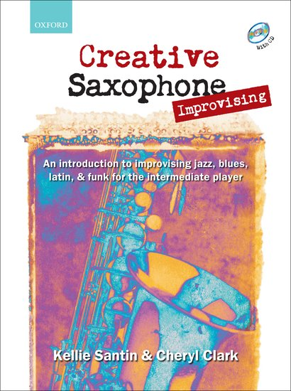OUP-3223684 - Creative Saxophone Improvising + CD Default title