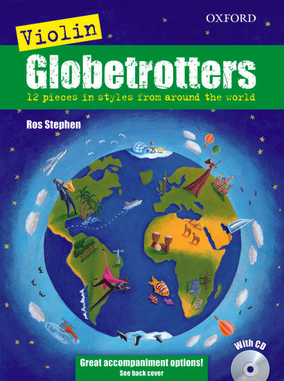 OUP-3369443 - Violin Globetrotters + CD Default title