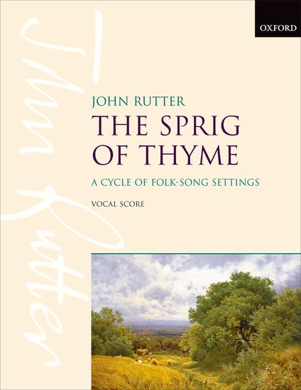 OUP-3380615 - The Sprig of Thyme: Vocal score Default title