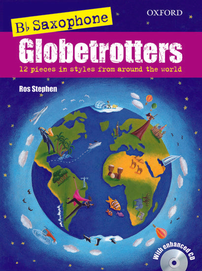 OUP-3392311 - Saxophone Globetrotters, B flat edition + CD Default title