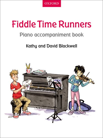 OUP-3398603 - Fiddle Time Runners Piano Accompaniment Book Default title