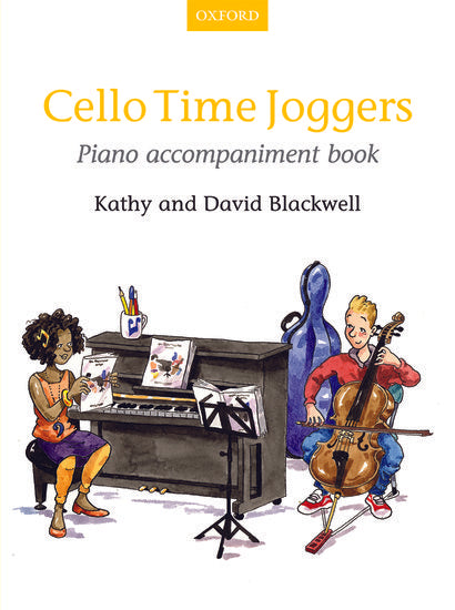 OUP-3404434 - Cello Time Joggers Piano Accompaniment Book Default title