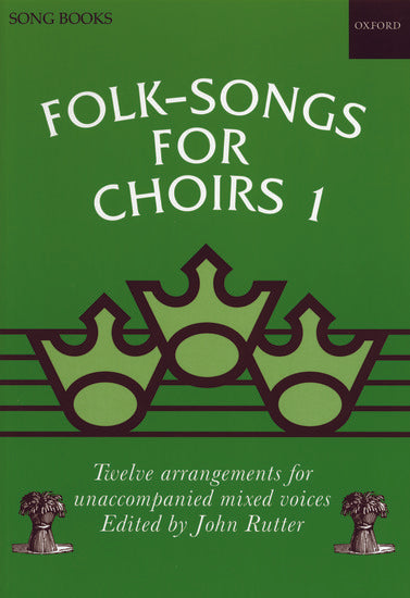 OUP-3437180 - Folk-Songs for Choirs 1: Vocal score Default title