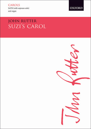 OUP-3522893 - Suzi's Carol: Vocal score for all versions Default title