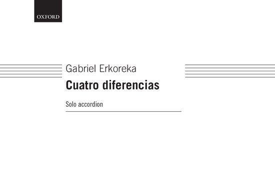 OUP-3563766 - Cuatro diferencias (version for accordion solo) Default title