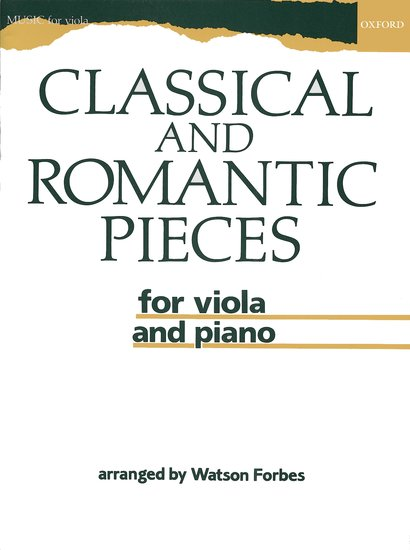 OUP-3565012 - Classical and Romantic Pieces for Viola Default title