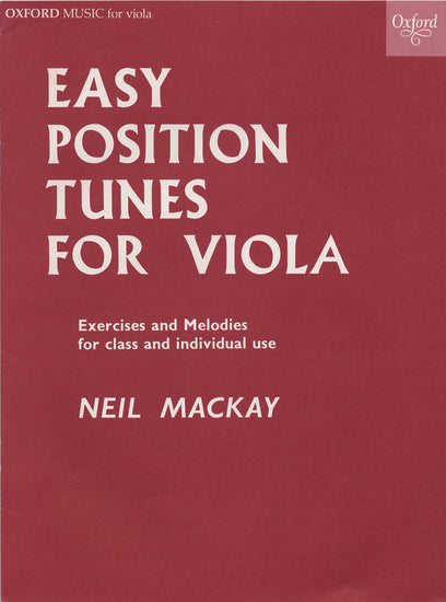 OUP-3576513 - Easy Position Tunes for Viola Default title