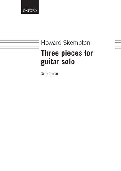 OUP-3588684 - Three pieces for guitar solo Default title