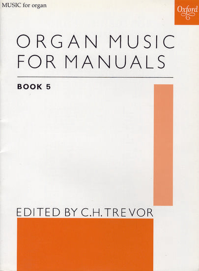 OUP-3758520 - Organ Music for Manuals Book 5 Default title