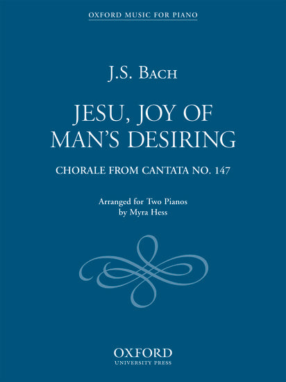 OUP-3851801 - Jesu, Joy of Man's Desiring Default title