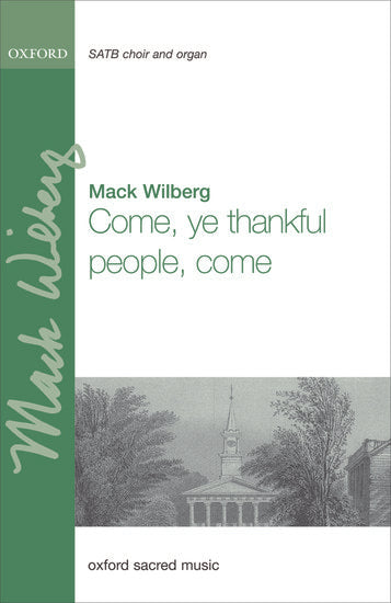 OUP-3852990 - Come, ye thankful people, come: Vocal score Default title