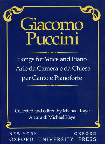 OUP-3858268 - Songs for voice and piano Default title